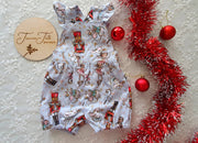 Christmas Girls Romper/Clara's Nut Cracker