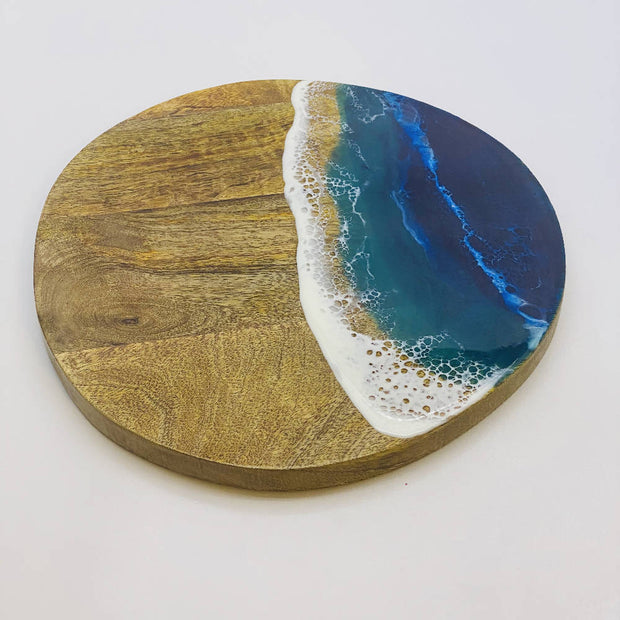 Ocean Resin art Board