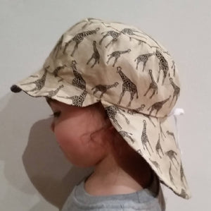 Adjustable Sunhat - Giraffes
