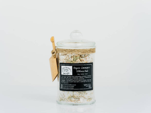 Organic Lemongrass Wellness Soak