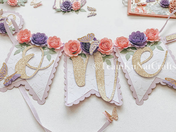 Butterfly-Theme Party Decor/ Props Package