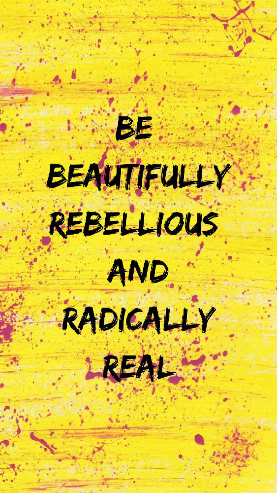 Rebel A6 Affirmation Postcard