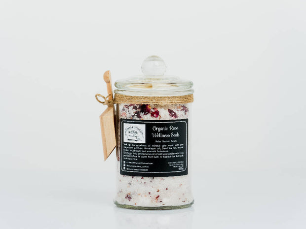 Organic Rose Wellness Soak