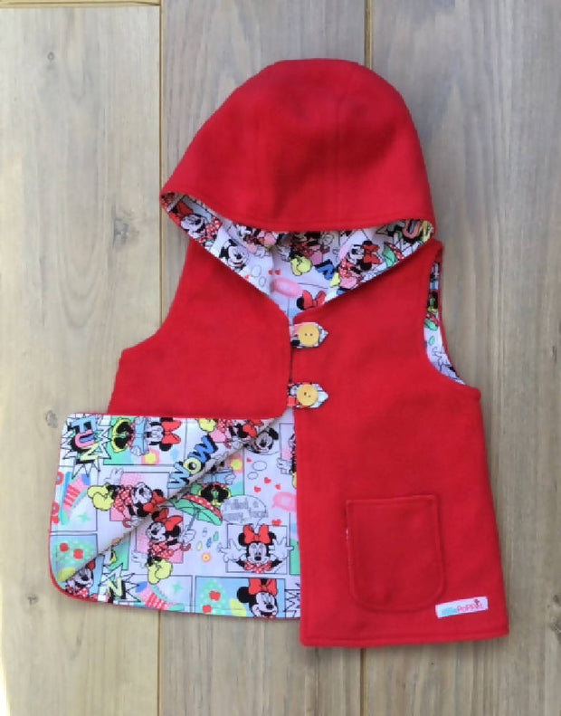 Minnie Mouse Vest