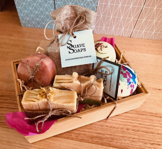 Suave Soaps- Mixed Gift Hamper 4