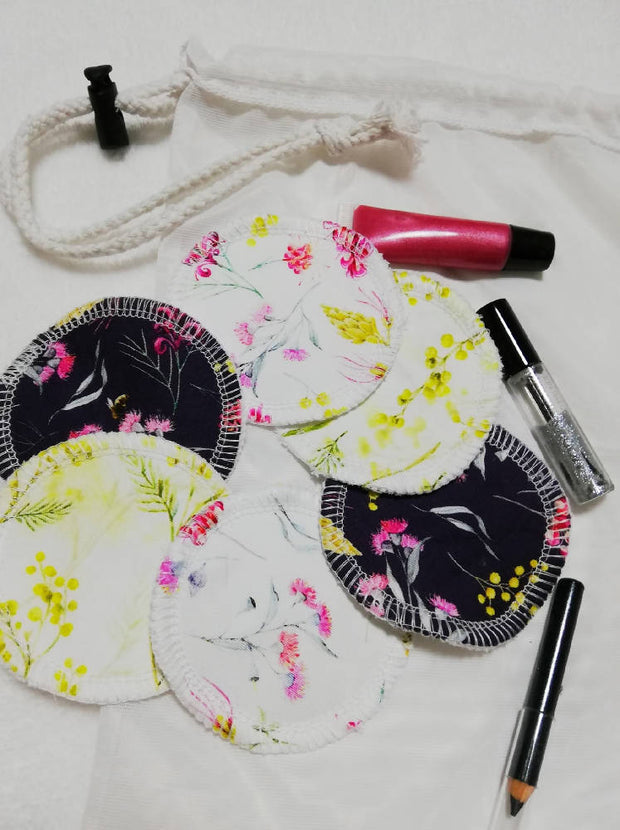 Australiana Reusable face pads