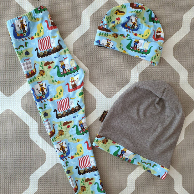 Unisex Leggings - Blue Bears