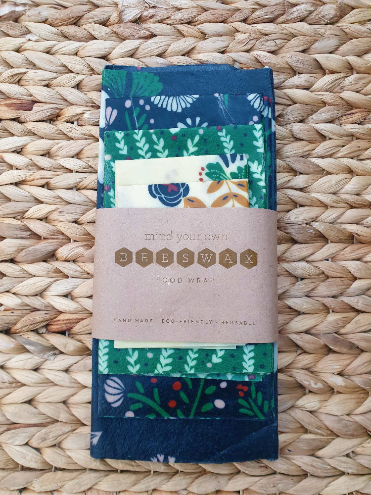 The Lot Pack beeswax wraps