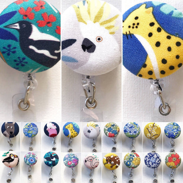 ID Badge Tag Reels - Fauna collection