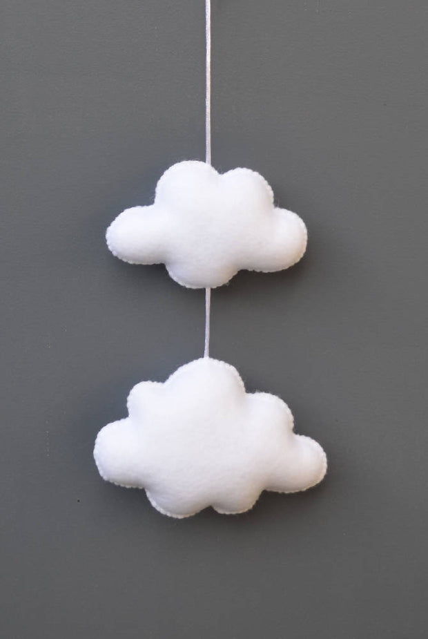 Cloud wall decoration