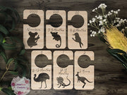Australian Animal - Nursery Closet Dividers