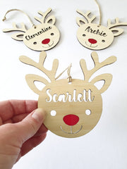 Christmas Ornament - Rudolph the Red Nose Reindeer