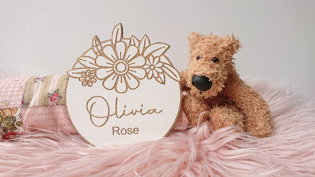 Children's - Girl Name Plaques