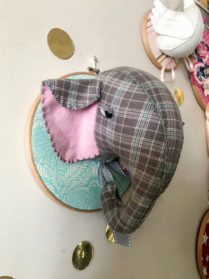 Elephant Faux taxidermy