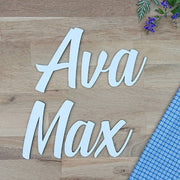 Cute wooden cut outs - Custom name or word style 3