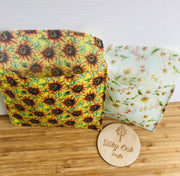 Reusable Beeswax Food Pouches