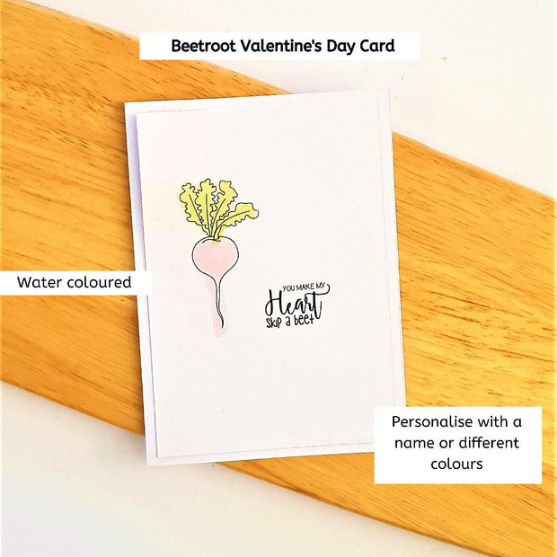 Beetroot Skip A Beat - Love Card