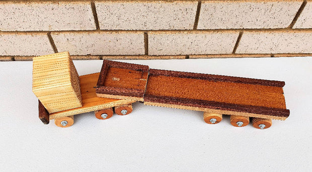 Wooden Toys | Kids Semi-Trailer Trucks | Kids Truck | DSS Handmade