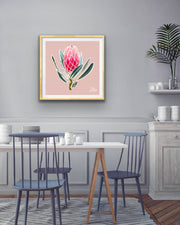 Protea Illustration Fine Art Print (Limited Edition)
