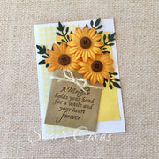 Bunch of Sunflowers MOTHERS DAY card