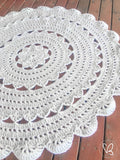 "Made to Order ""Alicia Doily"" Floor Rug"