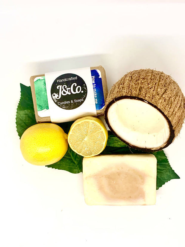 Natural Lemon & Coconut Soap