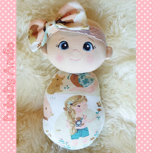 Cloth Baby Doll, personalised option available