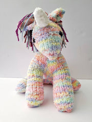 Unicorn Toys Knitted | Toys For Kids | Animal Plush Toy | DSS Handmade