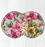 Reusable Breast Pads / Nursing Pads, Set of 5 ~ Florals