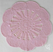 Ready Made 90cm Emily Doily Crochet Rug