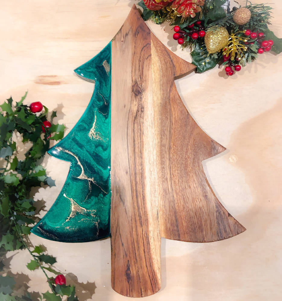 Christmas Tree Serving Board - made to order
