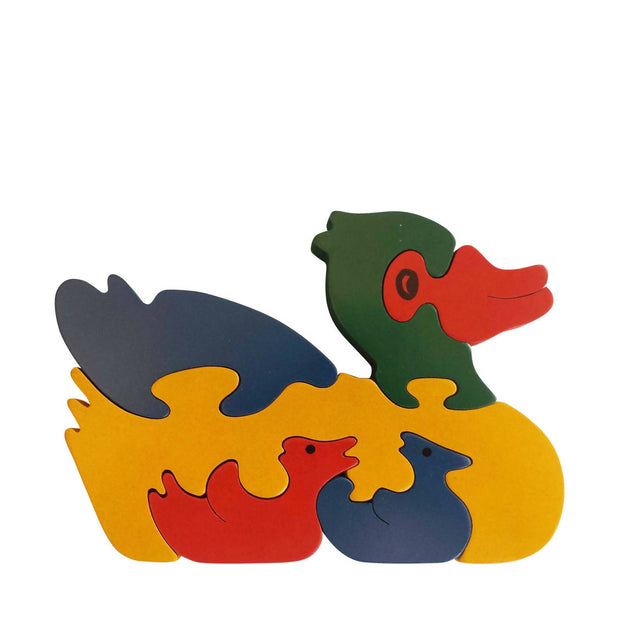 Duck Wooden Animal Puzzle
