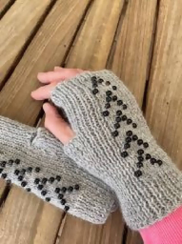 Embellished Hand warmers