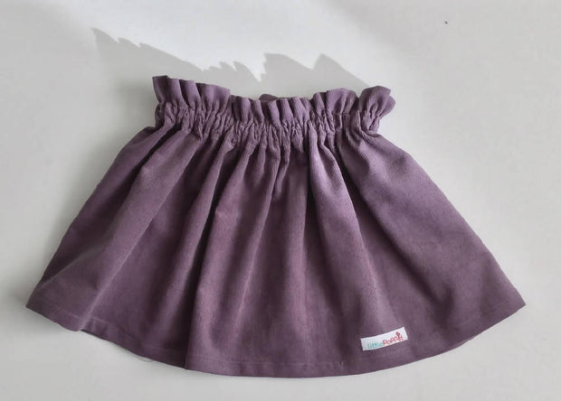 Girls Pinwale Cord Skirt