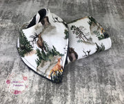 Rustic Woodlands Bib/Burp cloth set