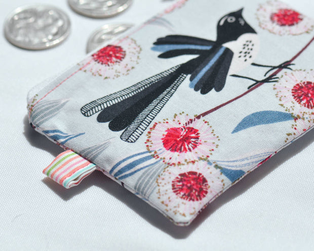 Willie Wagtail Coin Purse