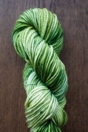 "Hand dyed yarn in ""The Shire"", 14ply New Zealand Merino yarn"