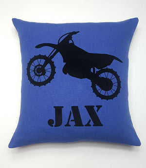 Custom Made Dirt Bike Cushion.