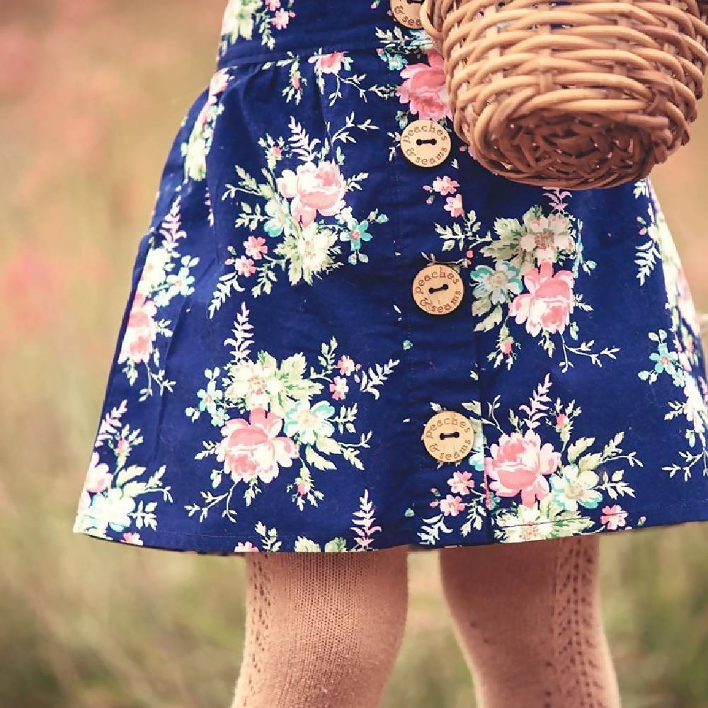 Cute as a Button Skirt
