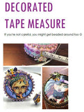 Measuring Tape Cover Beading Tutorial | DIY Tape Measure | Make Your Own Measuring Tape Cover Pattern | PDF Digital Download