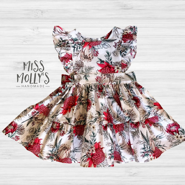 Christmas Tiered Aveline Dress