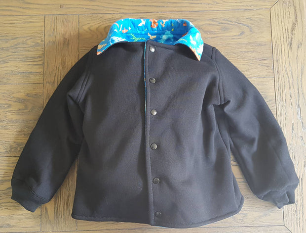Black Dinosaur jacket
