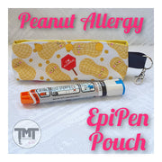 EpiPen Pouch- Anaphylaxis Medication Storage
