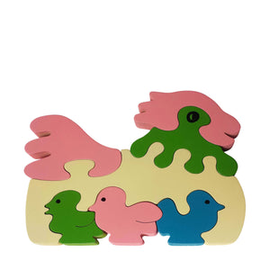 Chicken Wooden Animal Puzzle
