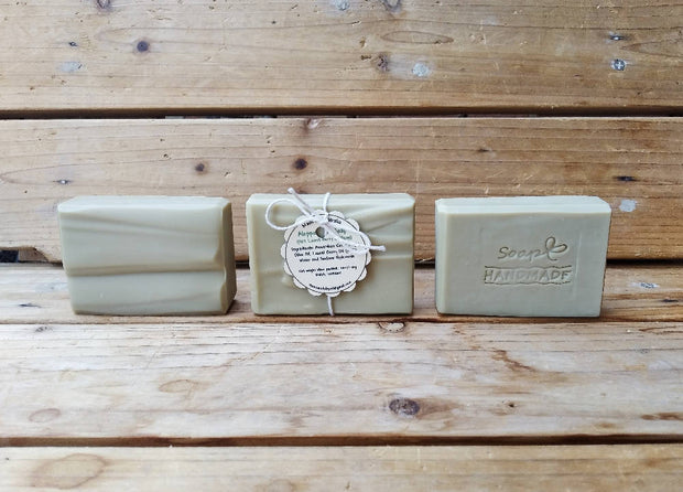 3 bars of Aleppo Style Soap - 110 +/-10g per bar with 30% laurel berry oil -