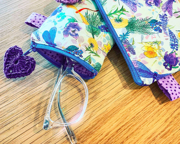 Dragonfly Glasses Pouch