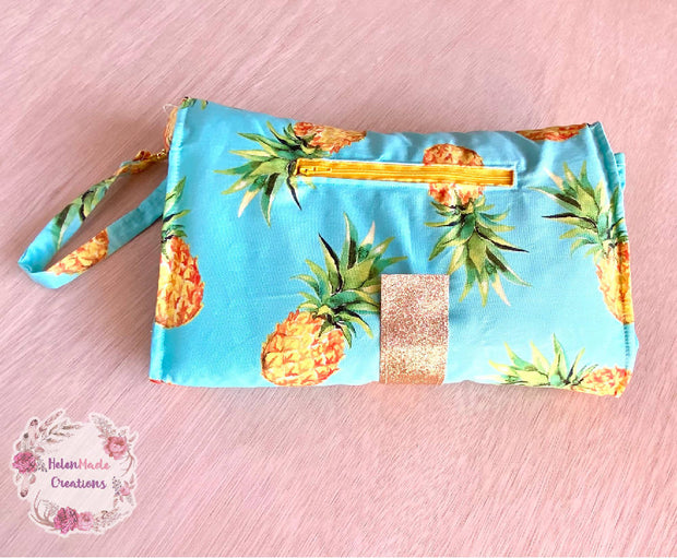 Pineapple - All In One Nappy Wallet