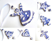 Willow Pattern Tree Christmas Decoration