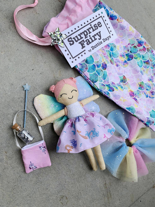 Custom made to order surprise fairy set by Dottie Days