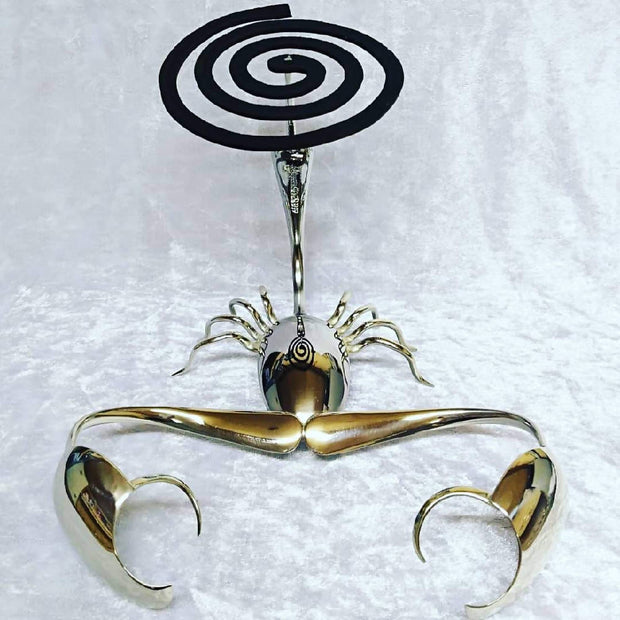 27. Scorpion hanging or sitting mosquito coil holder